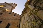 Lecce – Facciata laterale del Duomo e torre campanaria