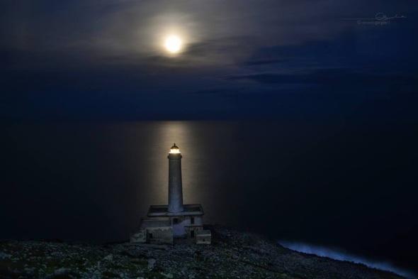 Faro punta palascia - Otranto (il punto piú a est!)