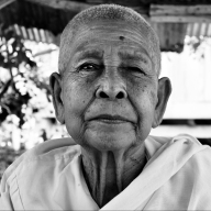 Monk lady