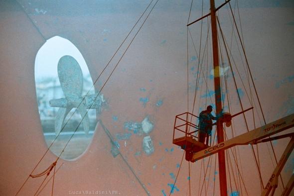 Propeller Mast Dye