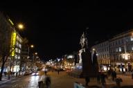 Václavské náměstí (Piazza San Venceslao), con statua equestre di San Venceslao