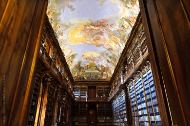 Sala filosofica della biblioteca Monstero Strahov