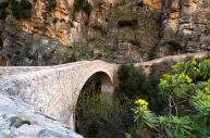 Il Ponte del Diavolo consente di attraversare le gole