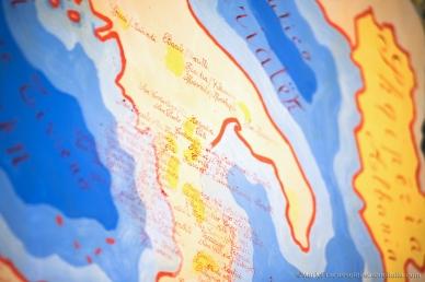 Mappa degli insediamenti arbëreshë nel Medioevo