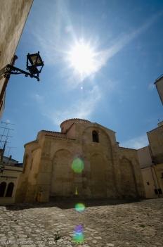 Costruita tra IX e X secolo nel cuore della città, dipendeva direttamente dal potere ecclesiastico di Costantinopoli.