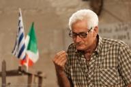 Antonio Costa, abitante di Zollino, recita in Grico durante una delle serate organizzate dall'Associazione italo-ellenica.